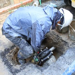 水漏れ修繕のイメージ